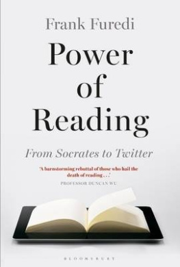 Power of Reading: From Socrates to Twitter