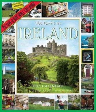 365 Days in Ireland Picture-A-Day Wall Calendar