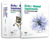 Herbs and Natural Supplements, 2-Volume set