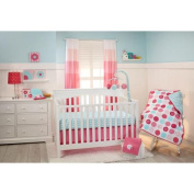 Little Bedding by NoJo Tickled Pink 4-Piece Crib Bedding Set