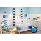 Little Bedding by NoJo Splish Splash 3 Piece Crib Bedding Set