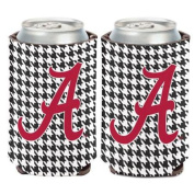 Alabama Crimson Tide 10cm tall Insulated Coozie Can Cooler Bama Wincraft 704474