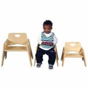 ECR4Kids Wooden Toddler Seat, 20cm