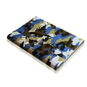 Fintie Blade X1 iPad Air Keyboard Case - Slim SmartShell Stand Cover with Magnetically Detachable Keyboard, Camouflage