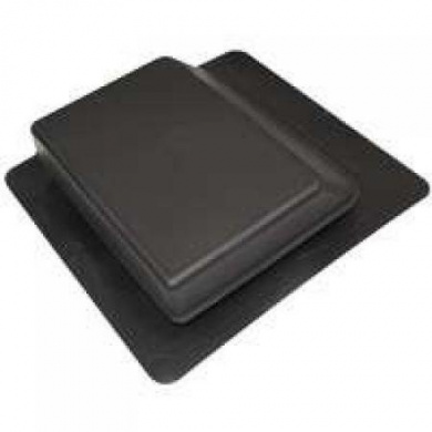 Canplas Inc 6065BL Slantback Roof Vent, Black