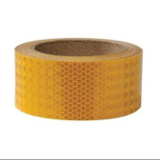 INCOM MANUFACTURING 01KPT62YL-10 Marking Tape,Roll,5.1cm W,9.1m L