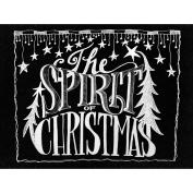 Chalkboard Canvas Print 30cm x 40cm -The Spirit