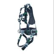 MILLER BY HONEYWELL 1015603 Full Body Harness, S/M, 180kg., Black