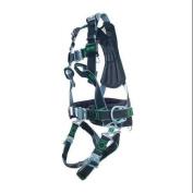 Miller By Honeywell Full Body Harness, Black 1014808/