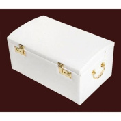 Leather Domed Jewellery Box