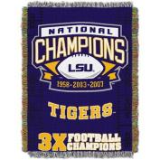 NCAA 120cm x 150cm Commemorative Series Tapestry Throw, LSU