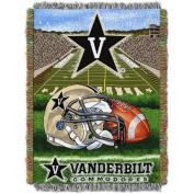 NCAA 120cm x 150cm Tapestry Throw Home Field Advantage Series- Vanderbilt