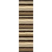 Orian Rugs Traverse Beige Runner Rug, 60cm x 8