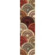 Orian Rugs Lever Multi-Coloured Runner Rug, 60cm x 8