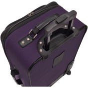 U.S. Traveller Delmont 3-Piece Expandable Luggage Set
