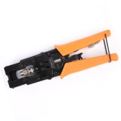 Etekcity Multifunctional Wire Crimpers/ Stripppers/ Cutters, Coaxial Cable Bolt Crimping Tool with ProTouch Grips for F/BNC/RCA