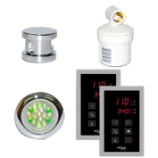 Steam Spa SteamSpa Royal Touch Panel Control Kit in Chrome