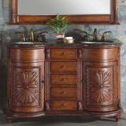 Silkroad Exclusive Alexandra 140cm Double Bathroom Vanity Set