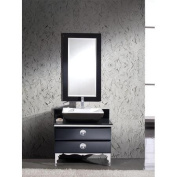 Fresca Moselle 90cm Modern Glass Bathroom Vanity Set with Mirror