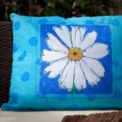 Magnolia Casual Daisy Print Pillow