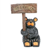 "RAM Gameroom Products ""Welcome"" Bear Statue"