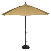 Phat Tommy 2.7m Marenti Wood Sunbrella Patio Umbrella