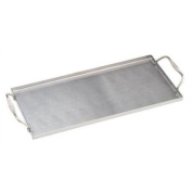 Bull Outdoor Products Stainless Plank Saver with Side Handles