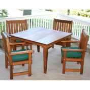 Creekvine Designs Cedar Get Together 5 Piece Dining Set