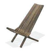 GloDea CHX45P1WBN Chair X45 Wild Black Natural