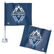 Vancouver Whitecaps Official MLS 36cm Car Flag