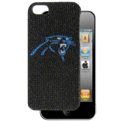 Siskiyou F5GL170 Carolina Panthers Crystal Snap on Case fits iPhone 5