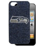 Siskiyou F5GL155 Seattle Seahawks Crystal Snap on Case fits iPhone 5