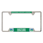 Hartford Whalers Official NHL 30cm x 15cm Metal Licence Plate Frame by Wincraft