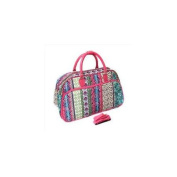 All-Seasons 812014-647F 50cm Artisan Carry-On Shoulder Tote Duffel Bag, Multicolor