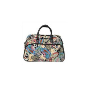 All-Seasons 812014-181 50cm Carry-On Shoulder Tote Duffel Bag - Paisley
