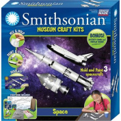 Skullduggery Smithsonian Museum Craft Space Casting Kit