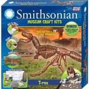 Skullduggery Smithsonian Museum Craft T-Rex Casting Kit