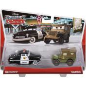 Disney/Pixar Cars Collector Die-cast Sheriff & Sarge 2-Pack