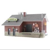 Woodland Scenics HO B/U Chip's Ice House WOOBR5028
