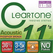 Cleartone 7411 EMP Micro Treated Acoustic Guitar Strings