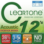 Cleartone 7412 EMP Micro Treated Acoustic Guitar Strings