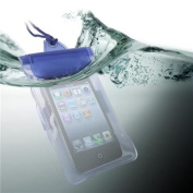 INSTEN Blue Sport Waterproof Bag Case For Apple iPhone 6 12cm 5 5S 5C 4 4S iPod Touch iTouch 5th 4th 3rd iPod Nano 7th