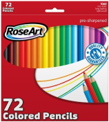 Roseart Classic Coloured Pencils, 72 Count