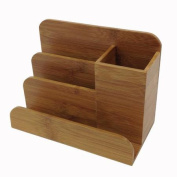 Buddy Products Bamboo Desk Organiser