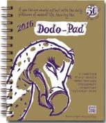 Dodo Pad Mini / Pocket Diary 2016 - Week to View Calendar Year