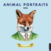 2016 Animal Portraits Wall