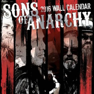 Sons of Anarchy Finale Wall Calendar