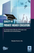 Quality in Private Higher Education