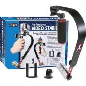 Vidpro SB-8 Video Stabiliser for GoPro, Smartphones, Cameras & Camcorders with Smartphone Holder & GoPro Mount