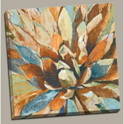 """Portfolio Canvas Decor """"Agave Hues"""" Painting Print on Wrapped Canvas"""
